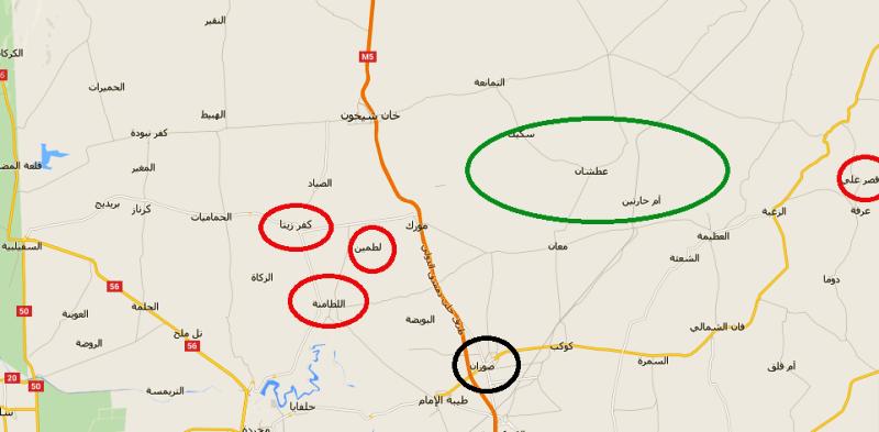 جبهات ريف حماة تشتعل من جديد .. الثوار يهاجمون ومجزرة في الريف الشرقي